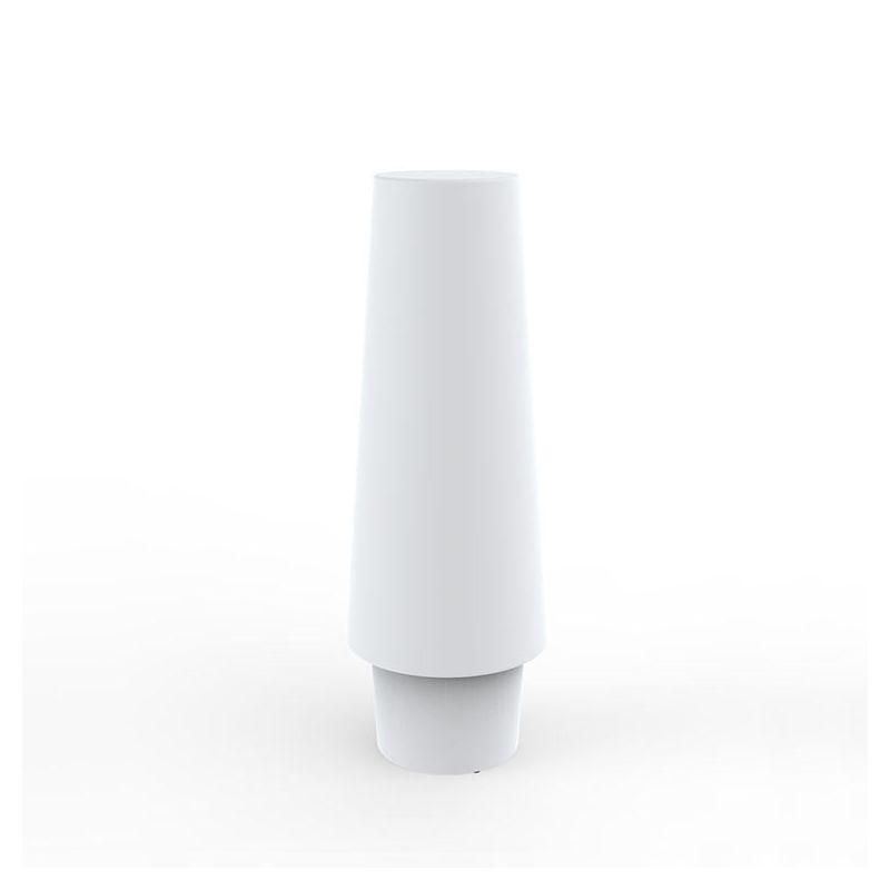 Lampe LED d'extérieur ULM Vondom, modèle lumière fixe blanche