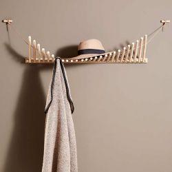 Etagère à chapeaux portemanteau KNAEGT Woud