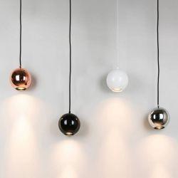 Suspensions BOULE Innermost, cuivre, noir brillant, blanc brillant, chrome