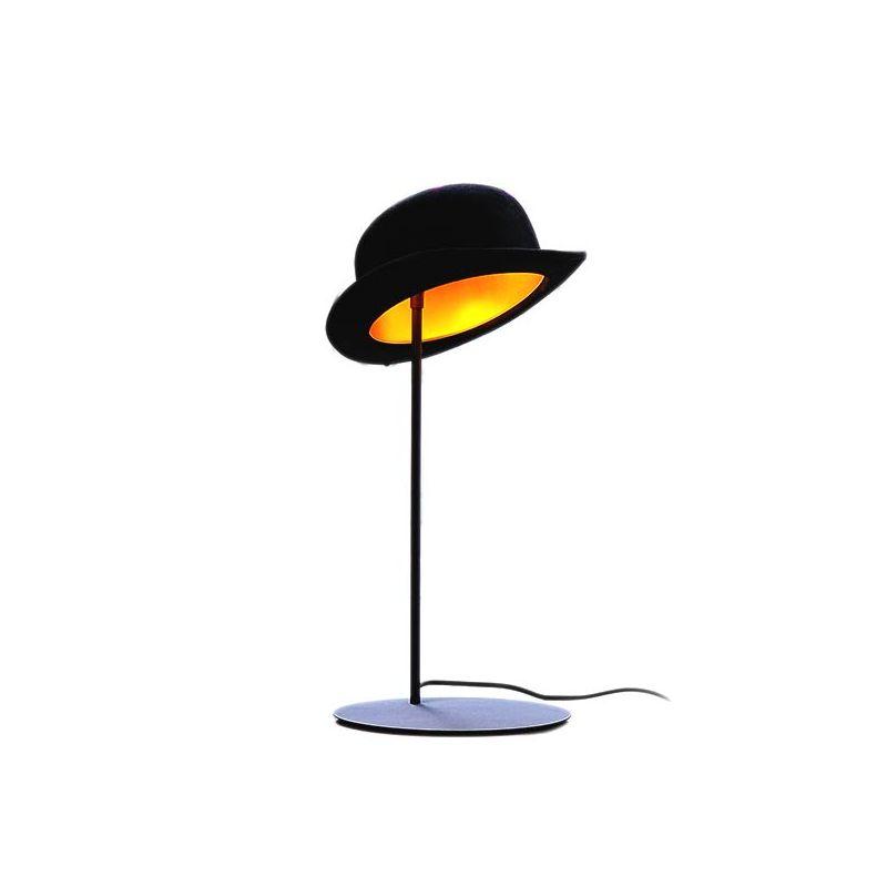 Lampe de table JEEVES Innermost, abat-jour chapeau melon
