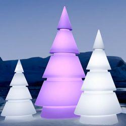 Sapin design lumineux FOREST hauteur 2 m Vondom, modèle LED RVB