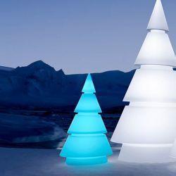 Sapin design lumineux FOREST hauteur 1m Vondom, modèle LED RVB