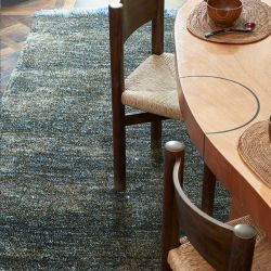 Tapis GRENAILLE Toulemonde Bochart, coloris anthracite