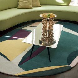Tapis POLIA SHAPE Toulemonde Bochart, coloris printemps