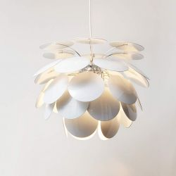Suspension DISCOCO 53 Marset, coloris blanc
