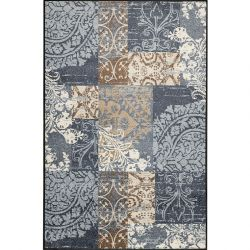 Tapis lavable 115 x 175 cm ARMONIA GREY Wash and Dry