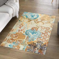 Tapis lavable SAMIRA Wash and Dry 110 x 175 cm