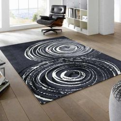 Tapis lavable SWIRL Wash and Dry 140 x 200 cm