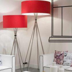 Lampadaires LIMA XL et XXL  It's About Romi, coloris rouge