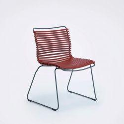Chaise de jardin coloris paprika CLICK Houe