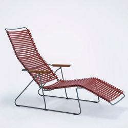 Transat inclinable sunlounger CLICK Houe