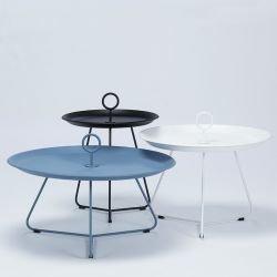 Tables basses de jardin Ø 70 cm, 60 cm et 45 cm EYELET Houe