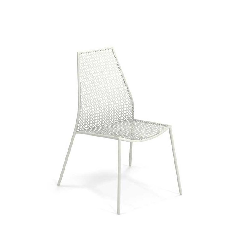 Chaise de jardin blanche VERA Emu