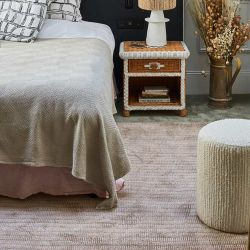 Tapis rose GENTLE collection Access Toulemonde Bochart