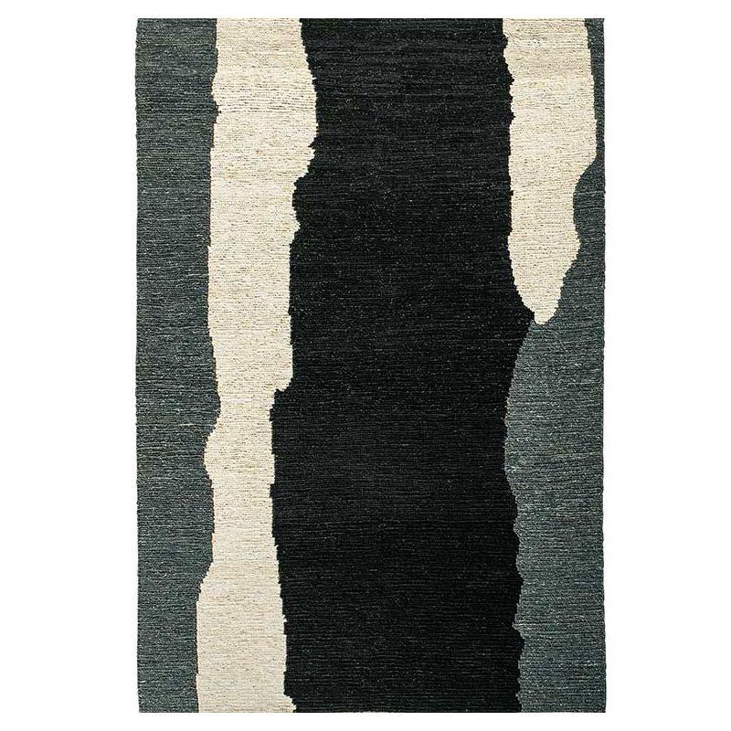 Tapis CLAIR OBSCUR Noir & Blanc, collection Designers Toulemonde Bochart