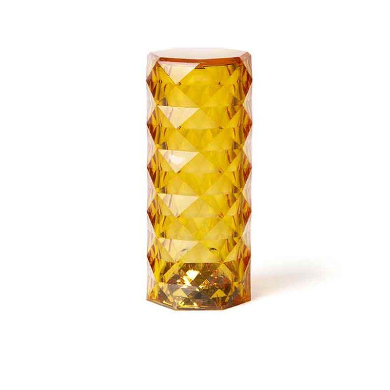 Lampe de Table sans fil MARQUIS, finition ambre
