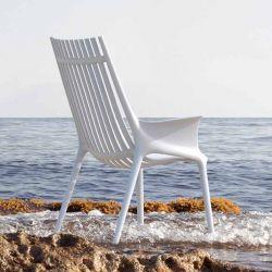 Fauteuil lounge outdoor IBIZA Vondom, coloris blanc
