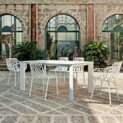 Table aluminium GRANDE ARCHE Fast