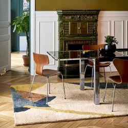 Tapis ABSTRACT, collection Designers Toulemonde Bochart copyright D.Delmas