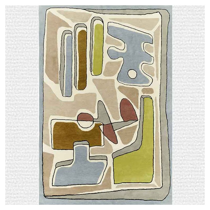 Tapis PUZZLE NUAGEUX, collection Designers Toulemonde Bochart copyright D.Delmas