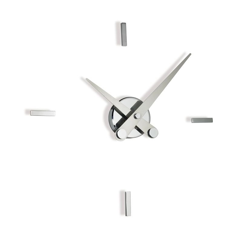 Horloge murale PUNTOS SUSPENSIVOS 4 repères horaire Nomon