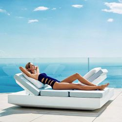 Daybed 4 dossiers inclinables VELA Vondom
