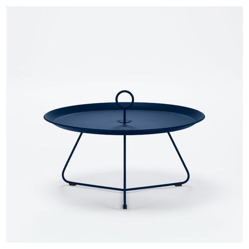 Table basse EYELET Ø 70 cm Houe, coloris bleu nuit