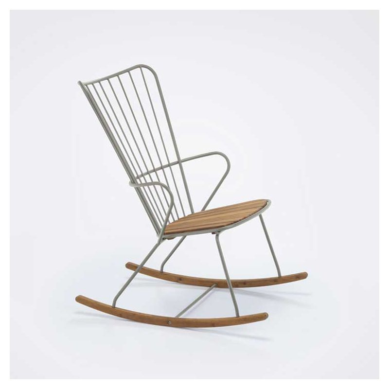 Rocking chair outdoor taupe PAON Houe