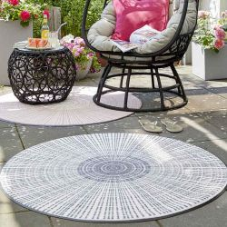 Tapis CASCARA GREY Wash and Dry
