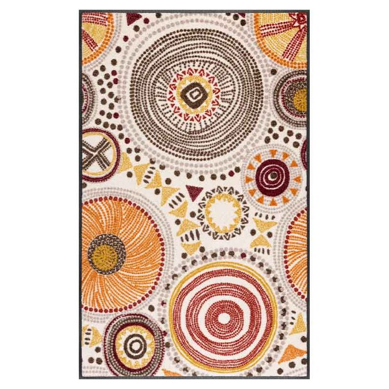 Tapis lavable 75 x 120 cm BOHO STYLE Wash and Dry