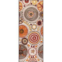 Tapis de couloir lavable 75 x 190 cm BOHO STYLE Wash and Dry