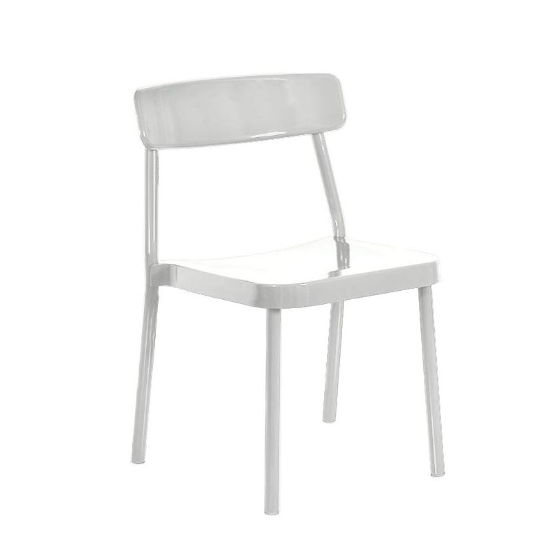 Chaise empilable GRACE Emu, coloris blanc