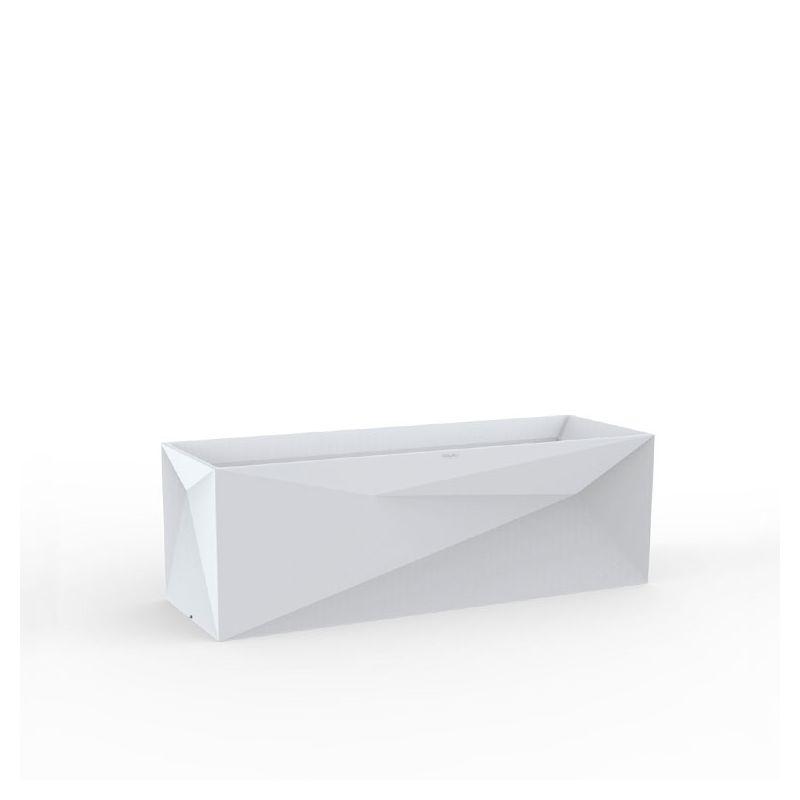 Jardinière FAZ Vondom, coloris blanc