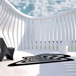 Tapis outdoor TWIST AND SHOUT Vondom