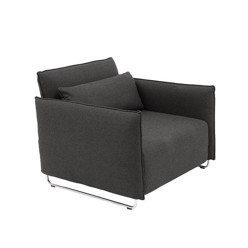 Fauteuil convertible gris foncé CORD Softline