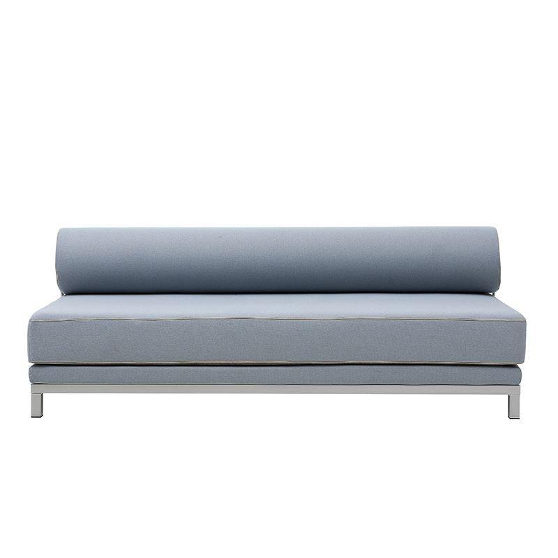 Canapé lit revêtu tissu bleu ciel SLEEP Softline