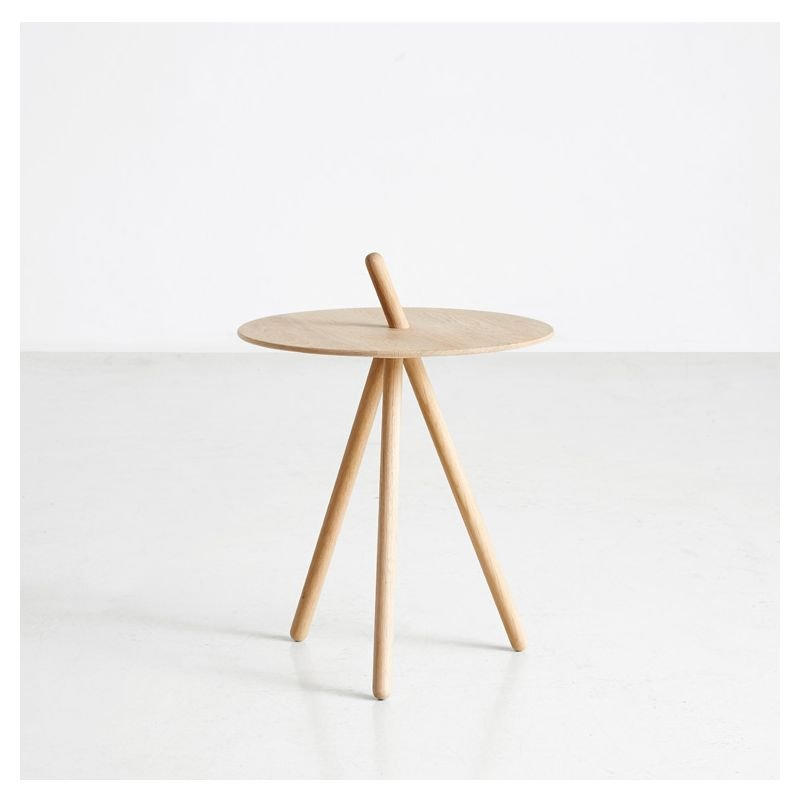Table d'appoint chêne naturel COME HERE Woud