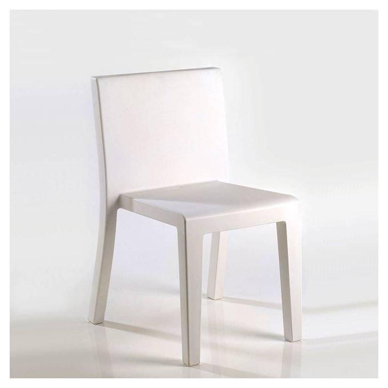 Chaise outdoor blanche JUT Vondom