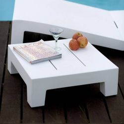 Table d'appoint outdoor blanche JUT Vondom