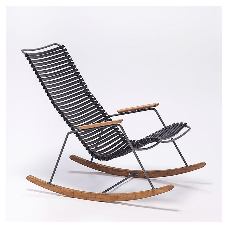 Rocking chair coloris noir CLICK Houe