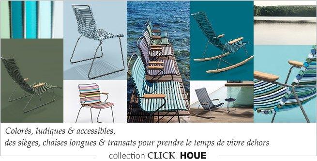 Collection de sièges de jardin Click Houe
