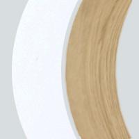 Extérieur laqué blanc-Intérieur chêne