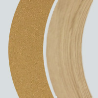 Extérieur laqué doré-Intérieur chêne