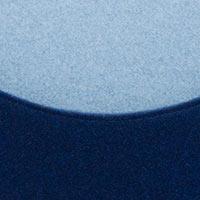 Côté marine-Felt 859, assise bleu ciel-Felt 858