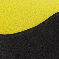 Côté noir-Felt 610, assise moutarde-Felt 847