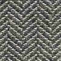 Tissu chevron Silver C343