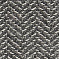 Textile chevron silver C343
