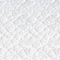 Coussin éco-cuir blanc