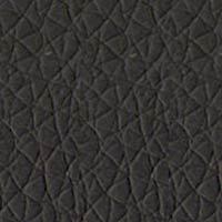 Coussin éco-cuir noir