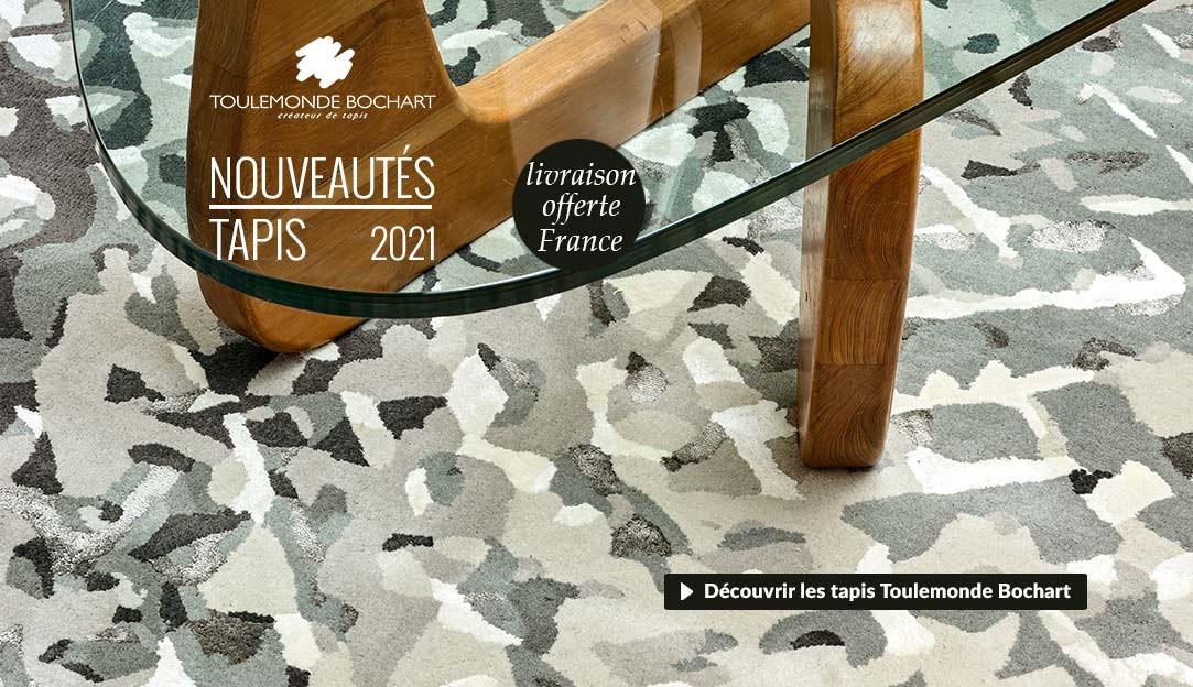 Découvrir les nouveaux tapis Toulemonde Bochart de la collection 2021